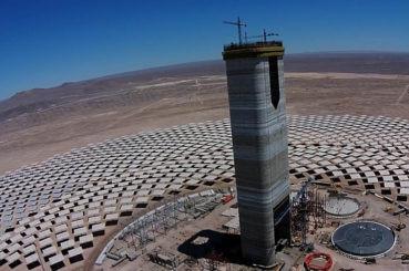 Proyecto Solar Cerro Dominador completa un 85 por ciento de avance en sus obras