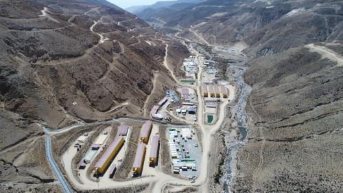 Quellaveco contempla iniciar exportaciones de cobre durante el primer semestre de 2022