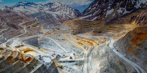 Producción de las cinco mayores mineras de cobre del país cae 5 por ciento a septiembre