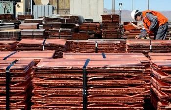 Importaciones chinas de cobre alcanzaron en diciembre su mayor nivel en cerca de 4 años