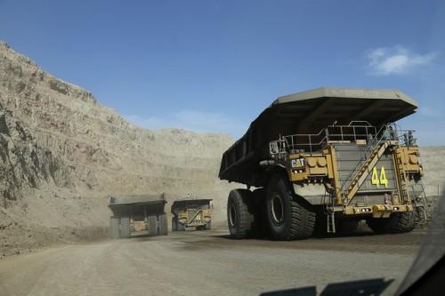 Producción minera creció 5,4% en la región de Coquimbo durante el primer trimestre
