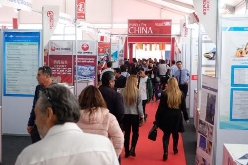 Proveedores mineros chinos sostienen más de 500 reuniones de negocios durante Exponor