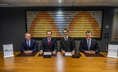 Collahuasi y Enel firman el mayor contrato de energía 100 por ciento renovable en Chile