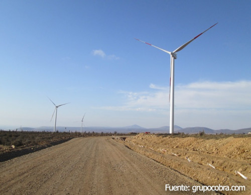 AES Gener acuerda compra de Parque Eólico Los Cururos en US 138 millones