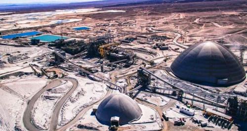 Antofagasta Minerals disminuye proyección de producción de cobre