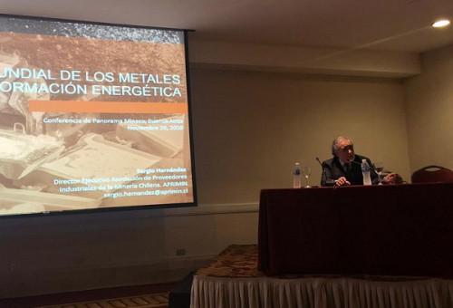 Aprimin abre espacios para proveedores mineros chilenos en Argentina