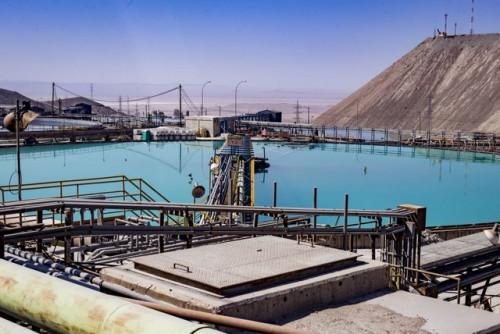 Consumo de agua de mar en la Gran Minería crece un 28% en 2018