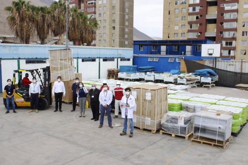 Teck entrega equipamiento médico al Hospital Regional de Iquique