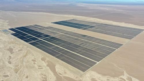 Collahuasi y Sonnedix firman contrato por 150 GWh de energía solar