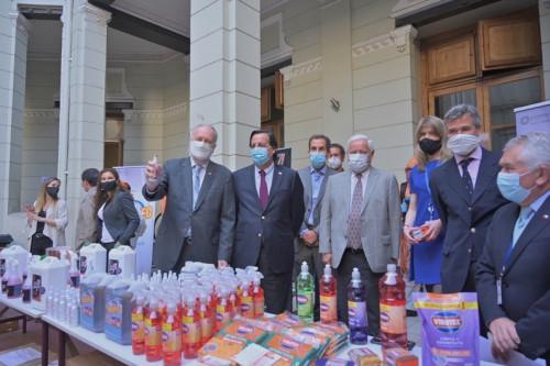 Anuncian que emprendedores de nano partículas de cobre sanitizarán todos los locales de votación de Santiago