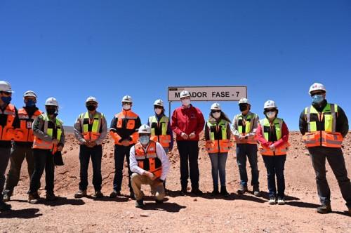 Ministros Prokurica y Zalaquett visitan proyecto minero La Coipa en Atacama