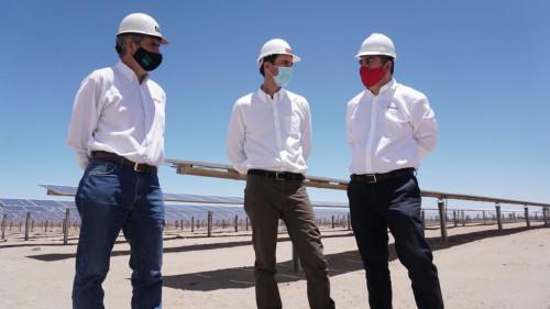 Enami da inicio a operación con un 100 por ciento de energías limpias