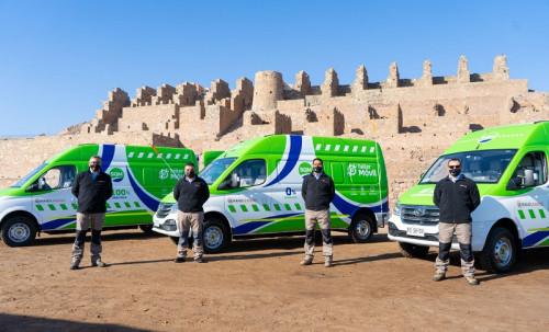 SQM inaugura primera flota nacional de talleres móviles eléctricos