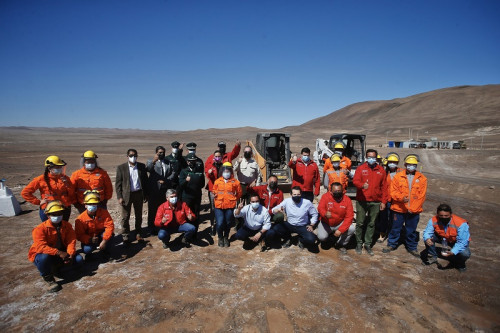 Primera planta procesadora de cobre beneficiará a mineros artesanales de Arica