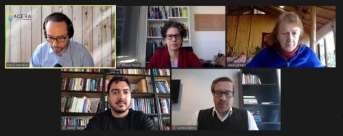 Webinar de Acera aborda la Transición Energética de Chile